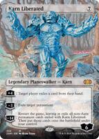 Karn Liberated - Foil - Borderless x1 Magic the Gathering 1x Double Masters mtg