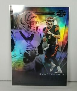 Joe Burrow 2020 Illusions Base Rookie Card RC #5 Cincinnati Bengals