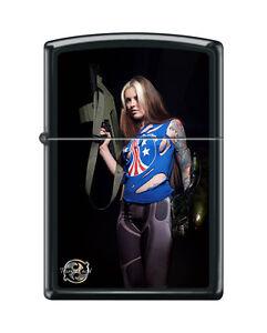 Zippo Lighter Sexy Girl Anna Quinn by Tony Read Bug Hunt