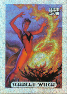 MARVEL MASTERPIECES 1994 SILVER HOLOFOIL CARD 7 OF 10
