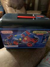 """Erector Toolbox Construction Set 2012 6 models Advanced """"2"""""""