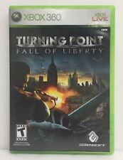 Turning Point: Fall of Liberty (Microsoft Xbox 360, 2008) Complete w/ Manual 2Z