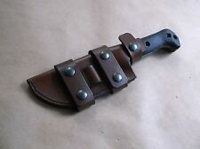 KA BAR BECKER BK-2 ESEE 5 CUSTOM LEATHER SHEATH (SHEATH ONLY) !READ DESCRIPTION!
