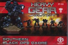Heavy Gear Blitz Southern Black Ops Cadre MINT