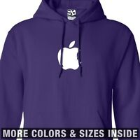 Steve Jobs Apple HOODIE Hooded Silhouette in Bite Sweatshirt  All Sizes & Colors