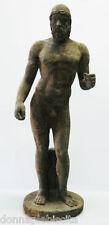 Statua Scultura Magna Grecia BRONZO RIACE Arte Antiquariato OLD Stone Sculpture
