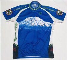 Shaver Sport Mountain Washington Biking Mens XL Jersey Shirt