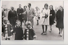 Photocard King Juan Carlos I & Queen Sophia of Spain