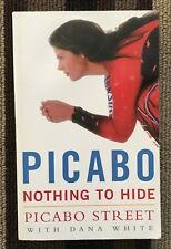 PICABO STREET SIGNED BOOK ''NOTHING TO HIDE'' SC BIOGRAPHY SPORTS SKIING WOMEN