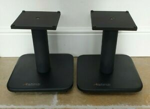PAIR OF ALPHASON SPECIALIST AUDIO 30cm SPEAKER STANDS IN VERY GOOD CONDITION