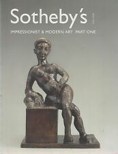 Konvolut von 6 Kunstkatalogen (Sotheby's, ars libri, Lempertz)   1998-2001