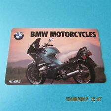 BMW R1100RS MOTORBIKE ON USED PHONECARD FROM JAPAN (6)