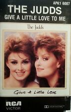 THE JUDDS CASSETTE GIVE A LITTLE LOVE TO ME FREE POST IN AUSTRALIA