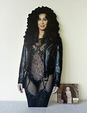 Cher Display STAND Standee NEW If I Could Turn Back Time Dressed to Kill D2K