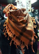 Military Scarf Desert Iraq Afghanistan Orange only