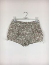 Topshop Floral Retro Tie Side Shorts Size 10 - (B13)