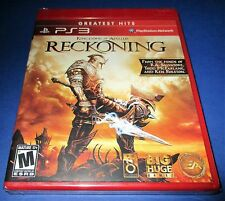 Kingdoms of Amalur: Reckoning Sony PlayStation 3 *Factory Sealed! *Free Ship!
