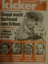 Kicker 99/1992, Europacup Borussia Dortmund , 1.Fc Kaiserslautern , Ajax