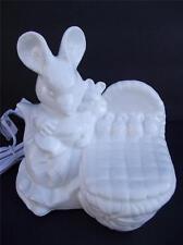 BEATRIX POTTER Schmid Bone China 1987 Night Light Lamp Mouse Figurine