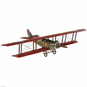 Authentic Models WWI Flying Circus Jenny Aircraft Biplane Model 80cm