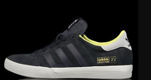 New 11 adidas Originals Mens Lucas Skateboarding Shoes Navy Grey Lemon Peel