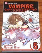 MANGA Vampire Knight vol#5 *FINE L/N* Matsuri Hino VIZ volume v Tomo Kimura 2008