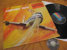LP AIRPORT 1975 géants dans le ciel John Cacavas 1974 Orig. Angleterre | m-to Ex