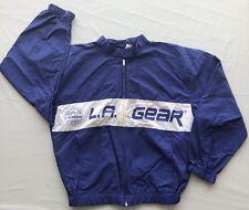 Vintage L.A. Gear Royal Blue/White Full Zip Jacket Men's Large