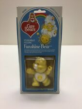 Funshine Bear, Care Bears Vintage Poseable Figure, Mint In Box By Kenner