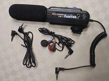 Hama direccional video rsm21 estéreo hama-videocámara micrófono