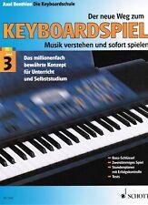 Keyboard Noten Schule : Der neue Weg zum Keyboardspiel 3 B-WARE BENTHIEN
