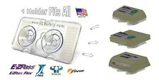 EZ Pass-Mate™, Suction Cup Holder for ALL EZPass & I-Pass models New & Old-Clear