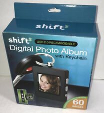 NEW Shift3 Digital Photo Album Keychain Black $30 Retail