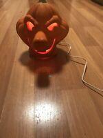 VTG 1995 Trendmasters Casper Stinkie Pumpkin Halloween Light Up Foam Blow Mold