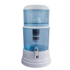 8 stage water filter ceramic carbon mineral bench top dispenser purifier pot 20l - Water Filter