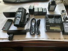 Sony FDR-AX33 4k professional handycam Video camera and kit