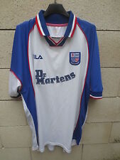 VINTAGE Maillot R & D UNITED F.C shirt FILA Dr Martens football jersey XXL