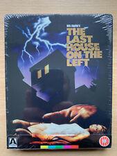Last Casa On The Sinistro Blu-Ray 1972 Violento Horror Classico Arrow Video