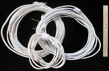 Radio Shack Coaxial Cable White RG-59U  3 Pcs 93 ft plus Bonus Adaptor