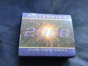 2000 Millennium Silver Proof Crown