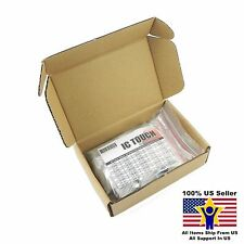 50value 100pcs 2W Metal Film Resistor +/-1% Assortment Kit US Seller KITB0138