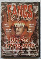 Fangs Of The Living Dead - 1969 Vampire Horror - DVD - EX