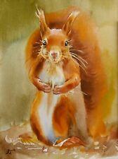 Eichhörnchen - Aquarell Original