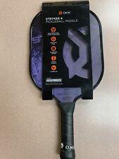 Onix Kz400 Stryker 4 Pickleball Paddle Graphite Black