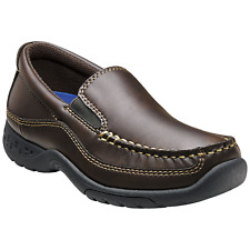 Stacy Adams Boys Porter Shoe Brown 13 #NB8T6-M220