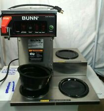 BUNN stainless steel coffee maker CWTF15 Hot water tap direct water hookup