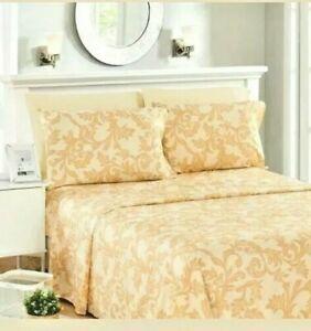 Luxury Premium Embroidered Twin Bedsheet Set