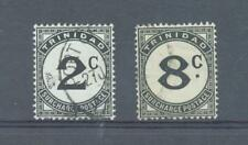 Trinidad 1947 Postage Dues sg.D26 and D29 used