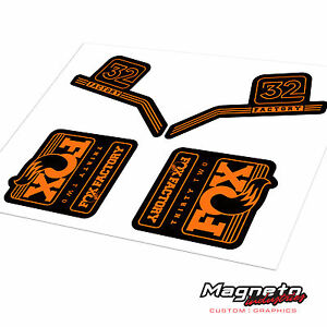 Fox 32 2016 - Reproduction Fork Decals