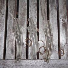 Fleischmann 6142 H0 3 Stück elektrische Bogen-Weichen links, gebraucht erhalten
